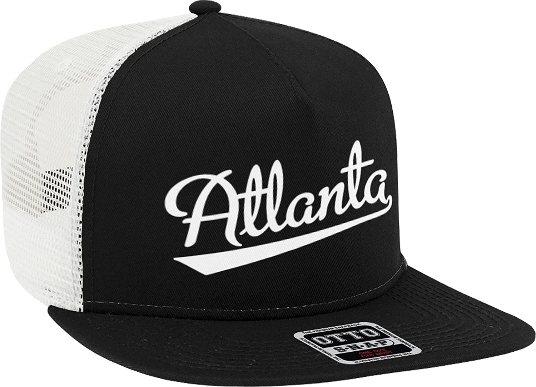 NOFO Clothing Co Atlanta Product Large-scale sale Script Trucker H Baseball Font Snapback