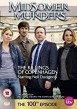 Christmas Gift Pack - Midsomer Murders - The Killings of Copenhagen - 100th episode [NON USA FORMATTED VERSION REGION 2 DVD] + Ye Old Cornish Christmas Sweets Gift Bag