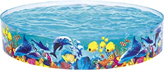 Bestway Round Pool For Unisex , 244 X 46 Cm , Multi Color - 26-55031