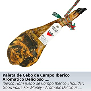 Paleta de Jamon de Cebo de Campo Iberico 50% Raza Iberica -