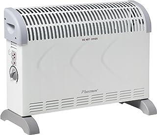 Moxie Girlz Bestron ACV2000 Calentador de Ambiente - Calefactor (230 V, 50 Hz) Gris, Blanco