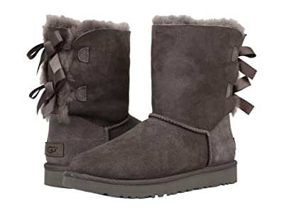 UGG Bailey Bow II (Grey) Women