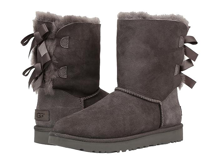 UGG  Bailey Bow II (Grey) Womens Boots