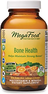 MegaFood, Bone Health, Helps Maintain Strong Bones, Multivitamin Supplement, Vegetarian, 120 tablets (30 servings)