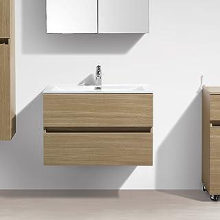 Amazon.fr : meuble vasque 80cm