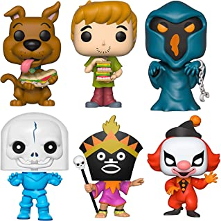 Funko Pop! Animation: Scooby Doo - Scooby, Shaggy, Phantom Shadow, Spooky Space Kook, Witch Doctor and Ghost Clown - Set of 6