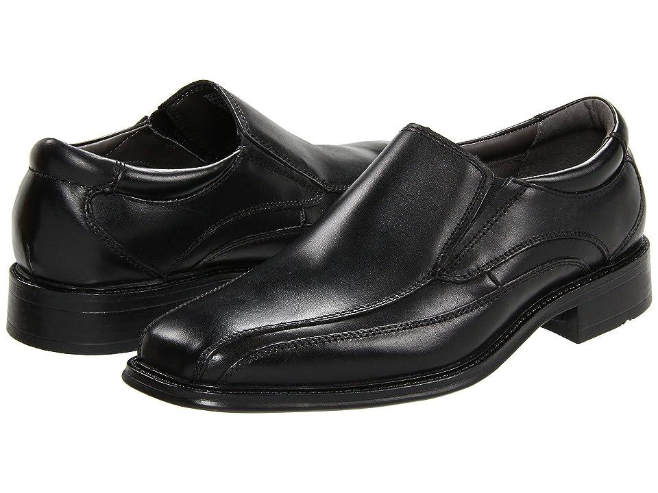 Dockers Franchise Bike Toe Loafer (Black Polished Leather) Men