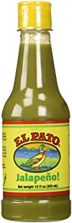 El Pato Flavorful Green Jalapeno Hot Sauce, Bundle of 2 (12oz) Bottles