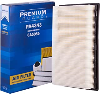 PG Air Filter PA4343 | Fits 1985-86 Ford Bronco, 1987-91 Country Squire, 1992-11 Crown Victoria, 1985-86 F-150, 1985-86 F-250, 1986 LTD, 1987-91 LTD Crown Victoria, 1993 Mustang