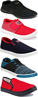 Shoefly Sports Running Shoes/Casual/Sneakers/Loafers Shoes for Men&Boys (Combo-(5)-1219-1221-1140-466-1014)
