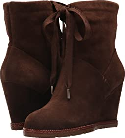 Dark Brown Cow Suede