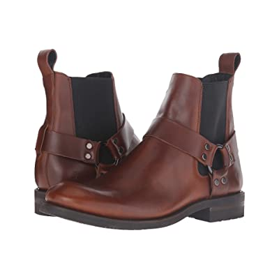 Frye Stone Harness Chelsea (Whiskey Smooth Pull-Up) Men