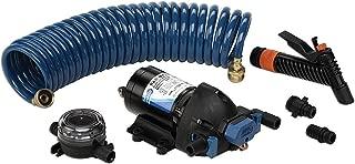 Jabsco 32900-0092 ParMax 4.0 GPM Washdown Pump - 12VDC 60 PSI with 25 ft. hose coil