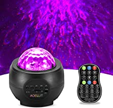 Star Projector Galaxy Light Projector AOELLIT Skylight for Bedroom Ceiling, LED Starlights Music Sky Light Starry Night Li...
