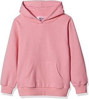 Kid Nation Kids' Solid Fleece Hooded Pullover Sweatshirt for Boys or Girls