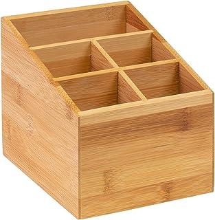 Westmark Bestickhållare/Bordslåda, 5 fack, mått: 13 x 13.5 x 16 cm, bambu Tapas + Friends, ljusbrun, 69842270