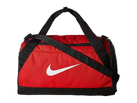 Duffel Blanco Brasilia Small Nike Rojo Negro Bag University 1vEwx70