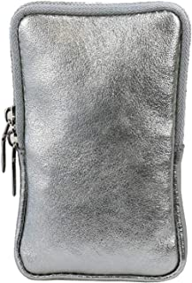 Arwin - Umhängetasche, Handytasche,   Geldtasche, Geldbörse Echt-Leder Tasche mit abnehmbarem und verstellbarem Schultergu...
