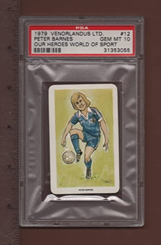 12 Peter Barnes - 1979 Our Heroes, World Of Sport voitured PSA rated GEM MT 10