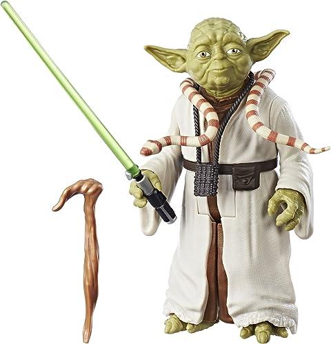 todos los bienes son especiales Mattel Star Wars  The Empire Strikes Strikes Strikes Back 12-Inch-Scale Yoda Figure  grandes ofertas