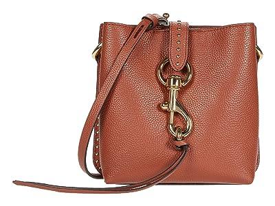 Rebecca Minkoff Megan Mini Feed Bag w/ Studs (Acorn) Handbags