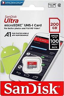 microSDXC 200GB SanDisk サンディスク 超高速UHS-1 U1 アプリ最適化A1対応 [並行輸入品]
