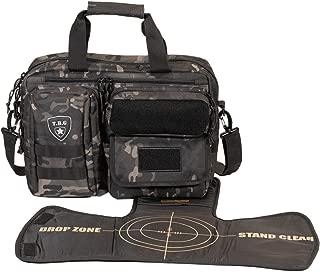 Tactical Baby Gear Deuce 2.0 Tactical Diaper Bag with Changing Mat (Black Camo)