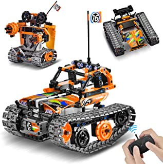 OASO Remote Control STEM Building Kit for Boys 8-12, 392 Pcs Science Learning Educational Building Blocks for Kids, 3 in 1...