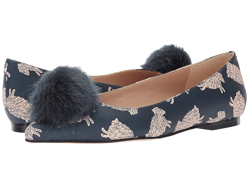 Sam Edelman Raddie (Navy Multi Sleepy Sheep Printed Leather) Women