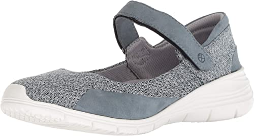 Hush Puppies Wohommes Cypress Maryjane Mary Mary Mary Jane Flat, Storm Knit Suede, 08.5 W US 705