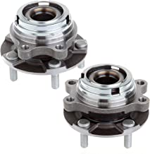 ECCPP Replacement for New Brand Wheel Hub Bearing Front Left Right Pair Set for 2007-2011 Altima w/ABS 2.5L