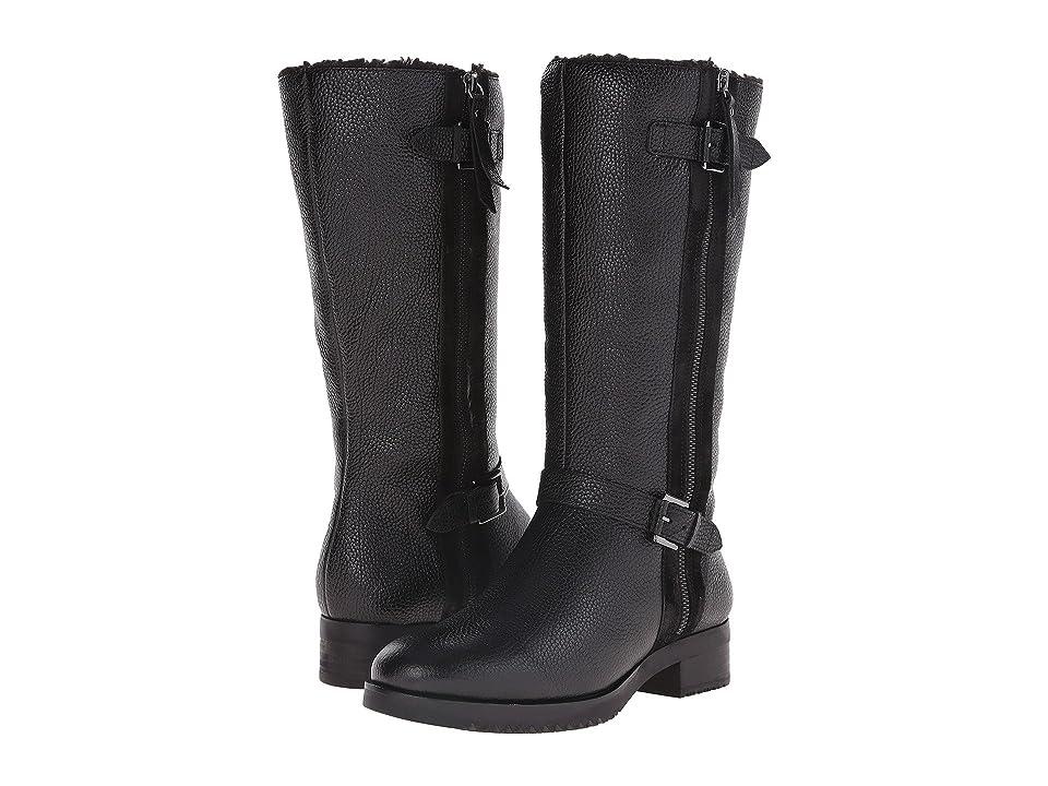 ECCO Alta Tall Boot (Black/Black) Women