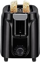 mainstays 2 slice toaster black