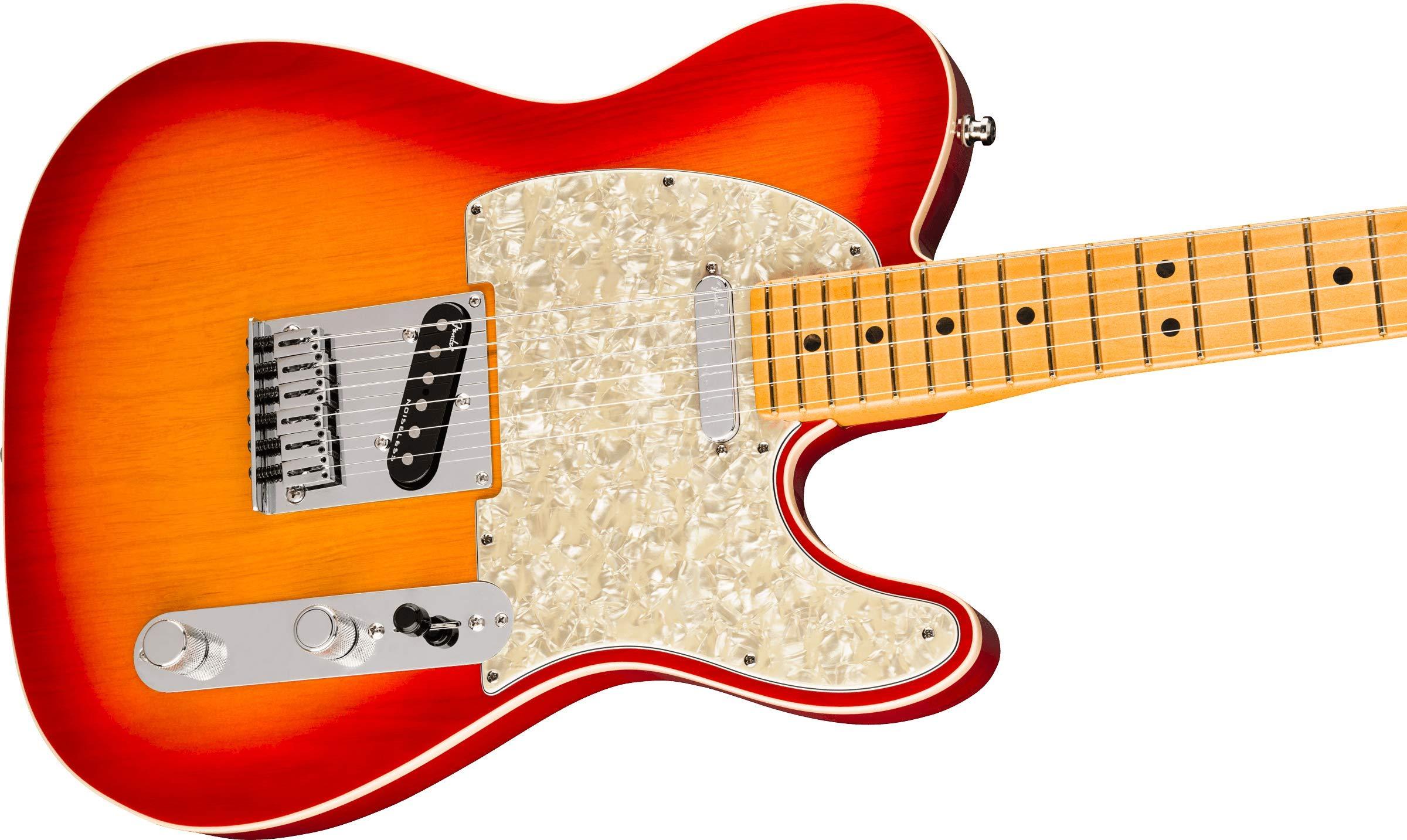 Guitarra eléctrica Fender American Ultra Telecaster (Plasma Red ...