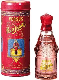 Versace Perfume - Red Jeans by versace - perfumes for women -  Eau de Toilette, 75ml