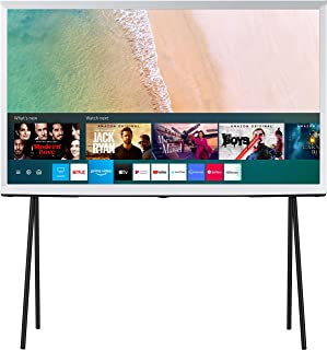Samsung The Serif Series 108 cm (43 inches) 4K Ultra HD Smart QLED TV QA43LS01TAKXXL (Cloud White) (2020 Model)