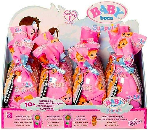 Unbekannt Zapf Baby Born urprise Puppen, Sortiert im Display mit 12 Stück