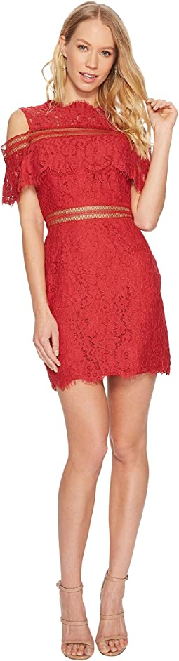 Butterfly Mini Lace Dress