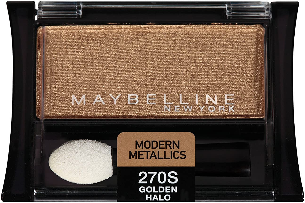 ダイアクリティカル酒滞在MAYBELLINE EXPERT WEAR MODERN METALLICS EYE SHADOW #270S GOLDEN HALO