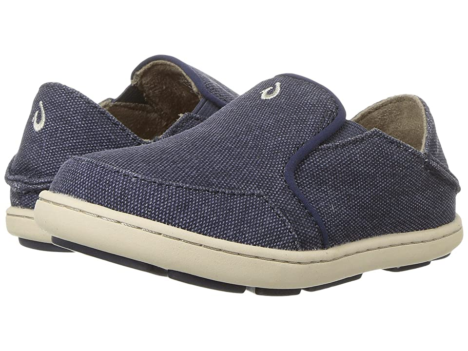 OluKai Kids Nohea Lole (Toddler/Little Kid/Big Kid) (Trench Blue/Trench Blue) Boys Shoes