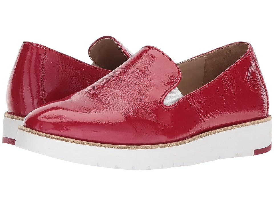 Johnston & Murphy Penelope (Red Crinkle Patent Leather) Women