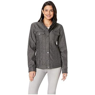 Cinch Softshell Trucker Jacket (Gray) Women