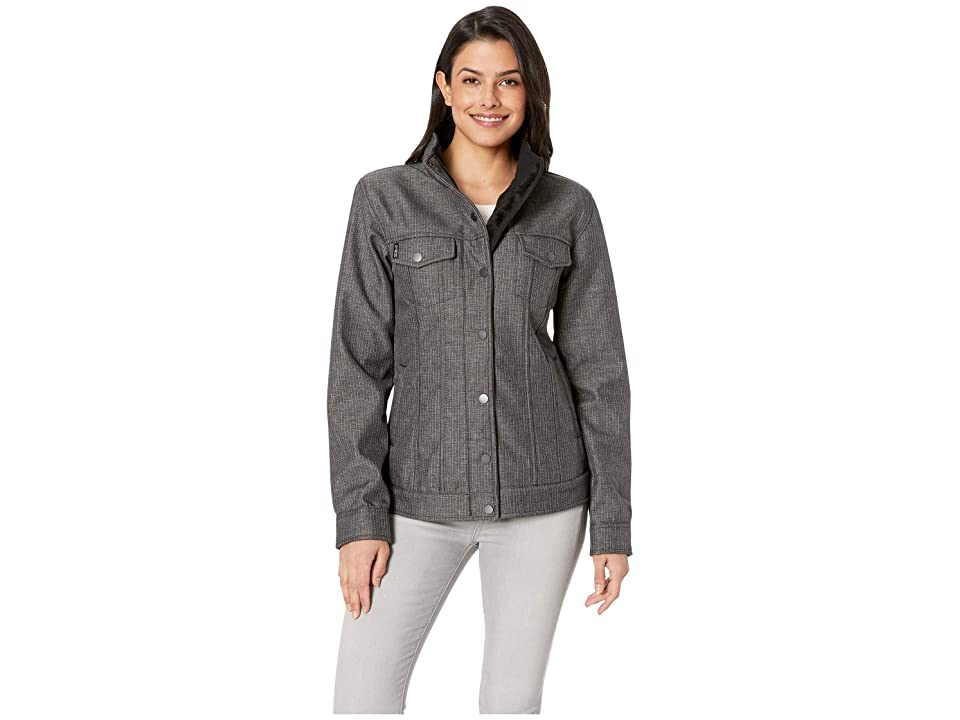 Cinch Softshell Trucker Jacket (Gray) Women