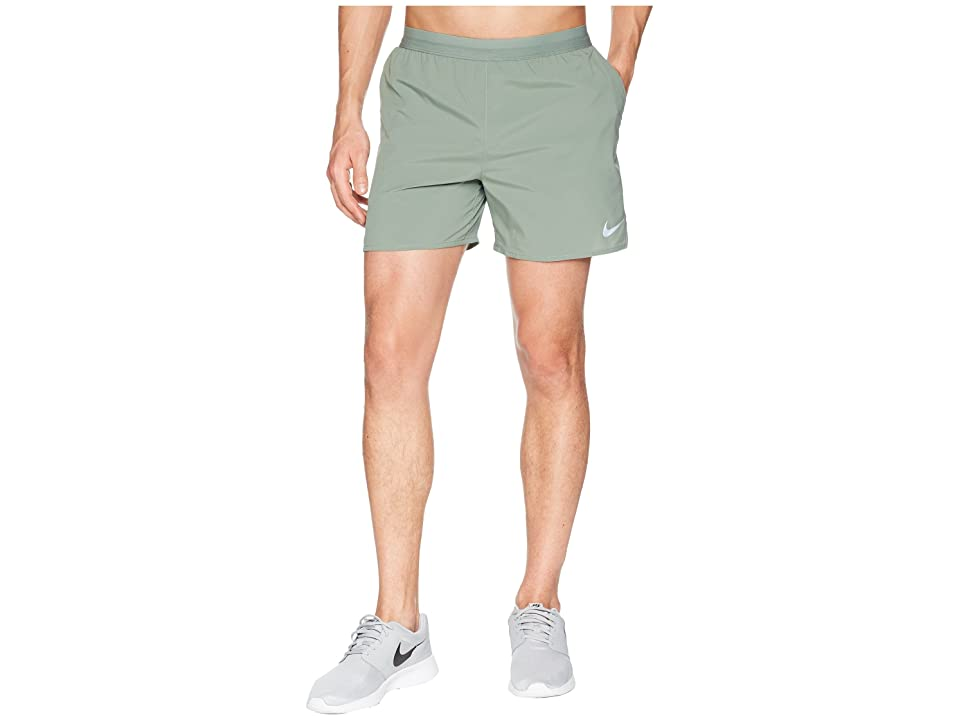 Nike Flex Stride 5 Running Short (Clay Green/Barely Grey) Men
