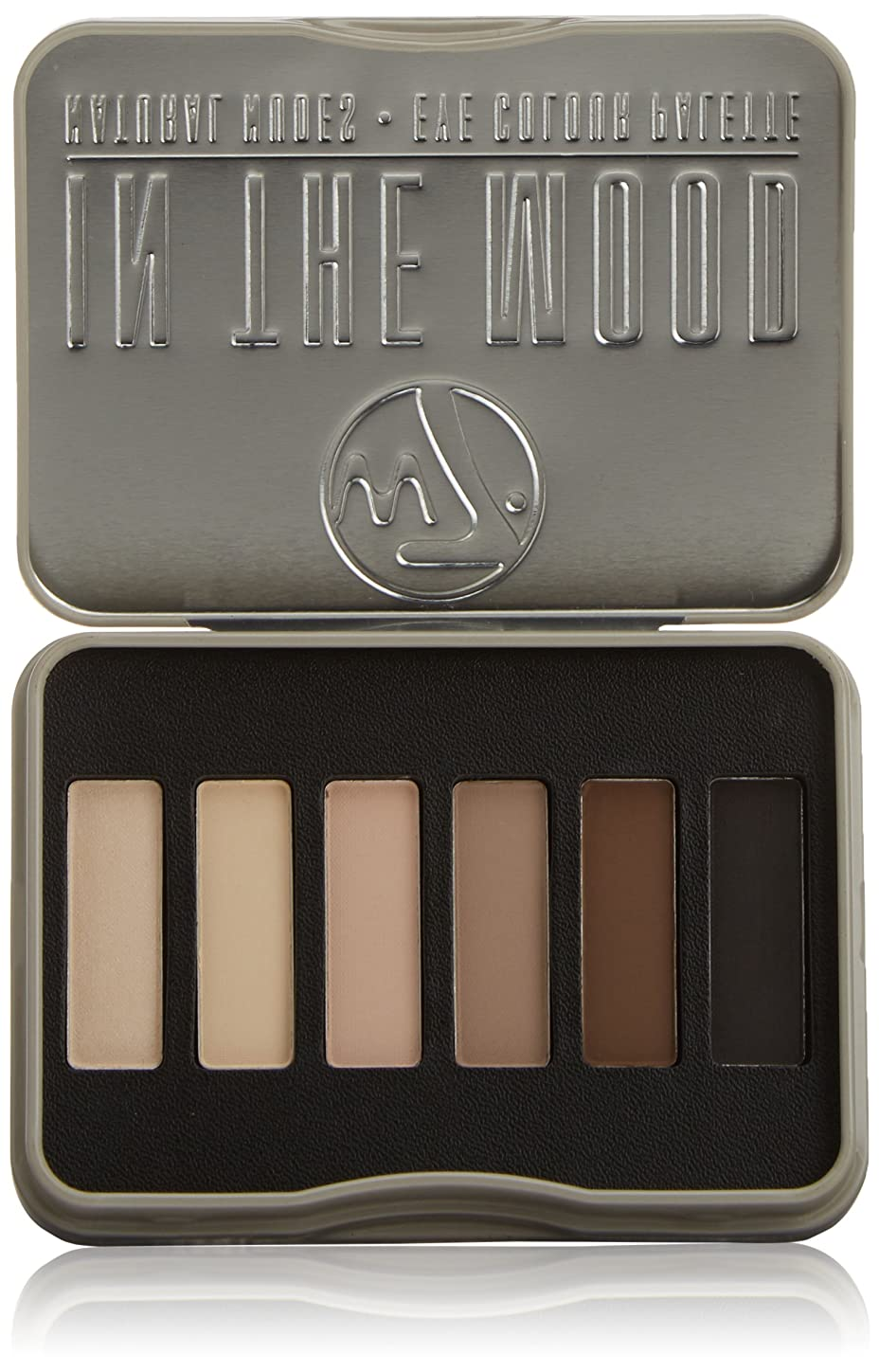 牽引デンプシーゼロW7 In The Mood Natural Nudes Eye Colour Palette (並行輸入品)