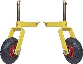 gauge wheels for landscape rake