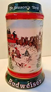 Budweiser Holiday Steins Collectable Holiday Stein Series (1991)