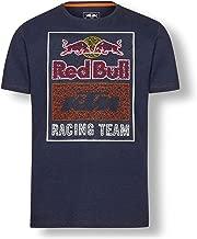 Red Bull KTM Mosaic Graphic T Shirt, Blue Mens Tshirt, KTM Factory Racing Original Clothing & Merchandise