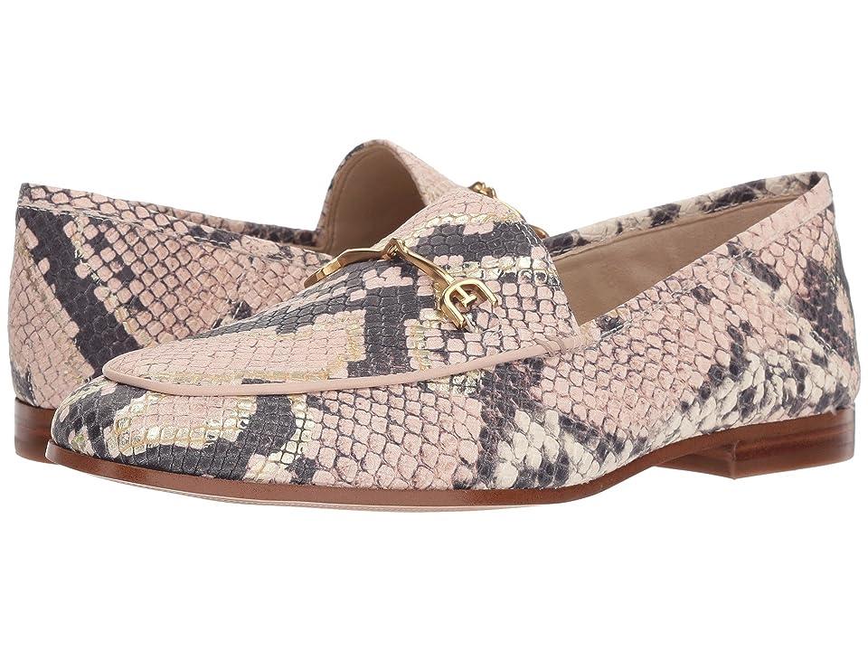 Sam Edelman Loraine (Pink Matte Diamante Snake Leather) Women