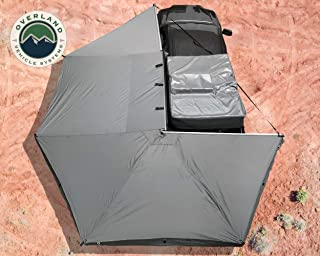 OVS Nomadic Awning 270 - Dark Gray with Black Travel Cover - Driverside